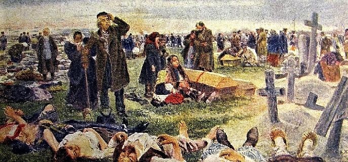 Владимир Маковский, Ходынка, 1904 г.